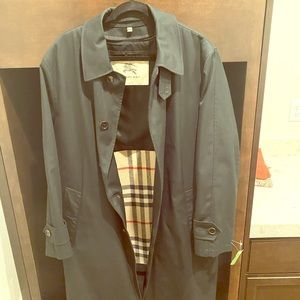 Vintage Burberry Long Coat